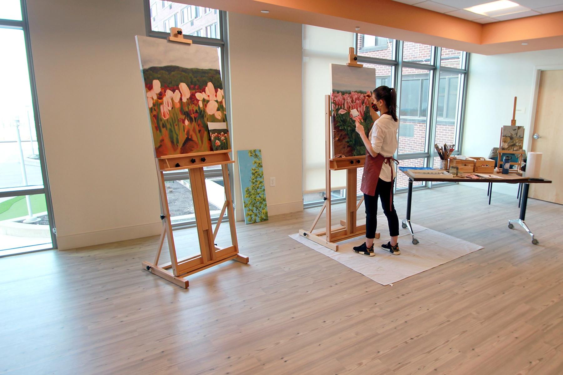 Saint John's Phase 3 - Art-Room